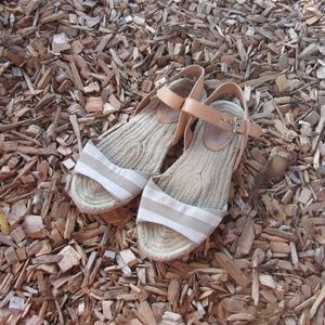 Coach Reena Getaway Cabana Espadrille Sandals
